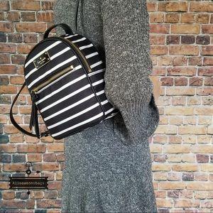 Kate Spade Bradley Wilson French stripe backpack